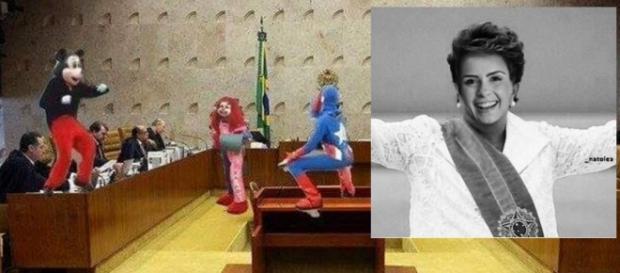 Carreta furacão e Ana Paula do BBB viram memes