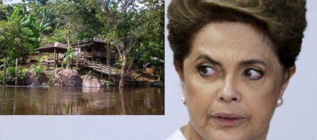 Dilma Rousseff - Foto/Montagem