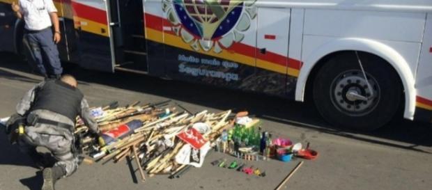 Objetos são encontrados em manifestação pró-Dilma