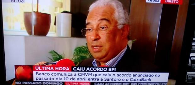 Primeiro-ministro presta declarações sobre a quebra do acordo entre BPI e Santoro