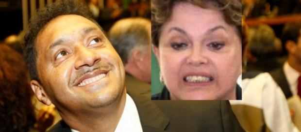 Tiririca votará contra Dilma - Foto/Montagem