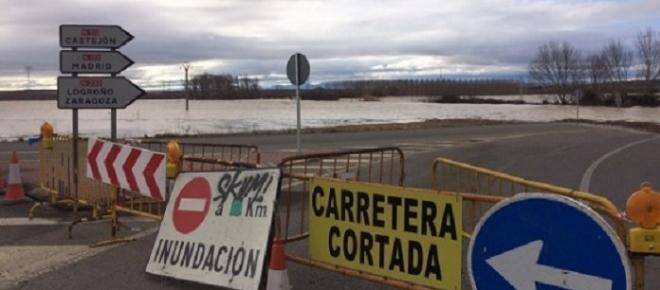 Media Zaragoza sería inundada por las aguas del Ebro si colapsara el pantano de Yesa