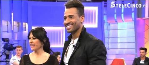 Foto: Telecinco.es. Maite con su pretendiente Rei