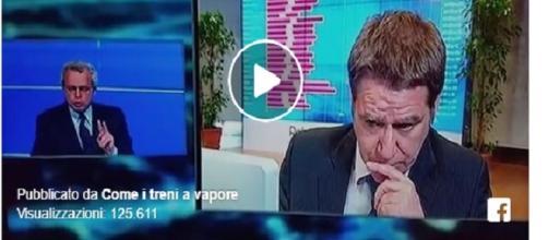 Matteo Renzi umiliato da Enrico Mentana