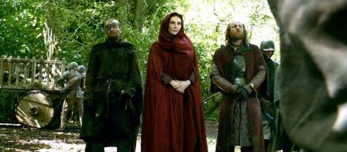 Melissandre, Thoros de Myr y Dondarrion