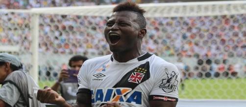 Riasco, autor do gol do título do Vasco.