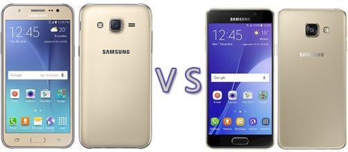 Samsung: Galaxy J5 vs Galaxy A3 (2016)
