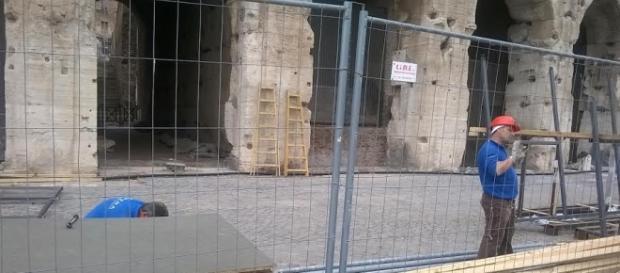 Colosseumul a fost cosmetizat de români