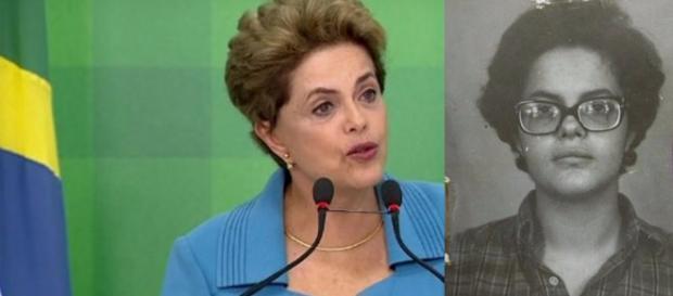 Dilma conversou com jornalistas no Planalto