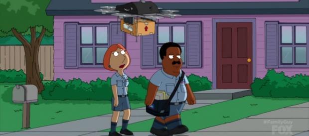 "Family Guy ""Take A Letter"" screencap via Fox"