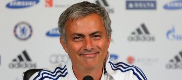 José Mourinho en su etapa como entrenador del Chelsea