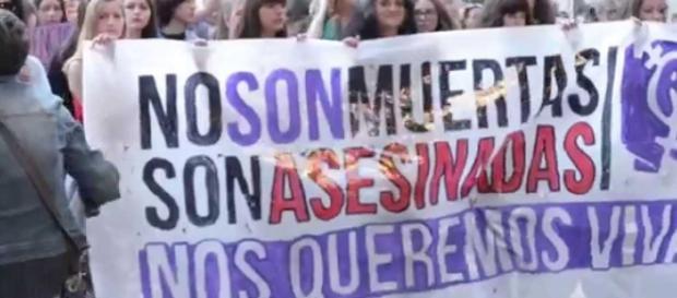 Marcha contra la violencia machista