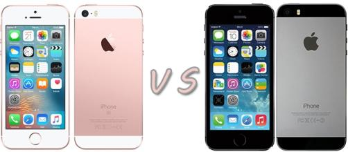 Confronto Apple: iPhone SE vs iPhone 5S