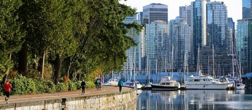 Stanley Park and Vancouver BC - Tourism Canada Photo