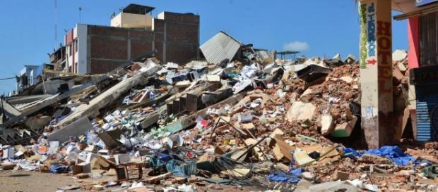 Devastador terremoto ocurrido en Ecuador