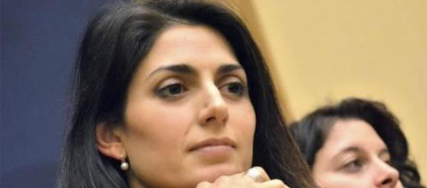 La candidata del M5S, Virginia Raggi