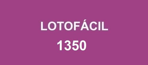 Lotofácil 1350; Prêmio sorteado no Espaço Caixa em São Paulo.