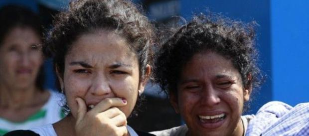 O choro das mulheres diante da devastação