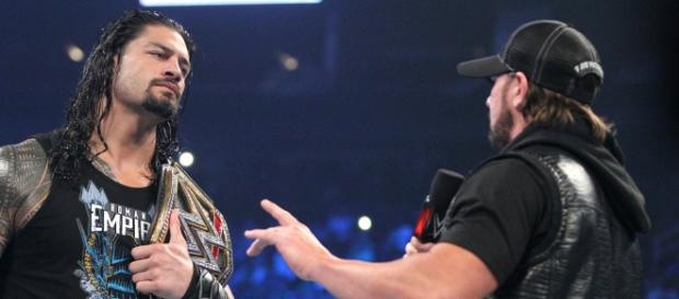 Roman Reigns y AJ Styles se verán las caras en Payback