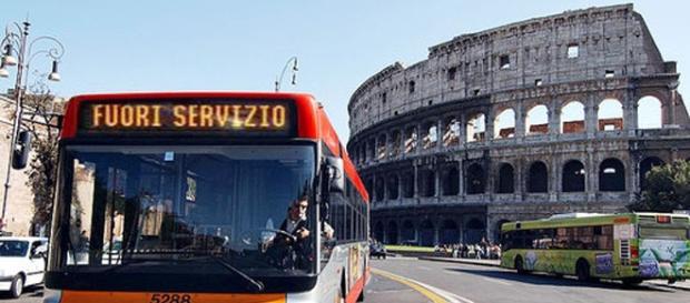 Sciopero trasporti pubblici a Roma del 21 aprile.