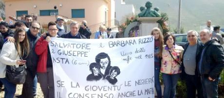 La commemorazione delle vittime di Pizzolungo