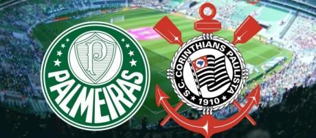 Palmeiras e Corinthians estão em situações opostas no Paulistão.