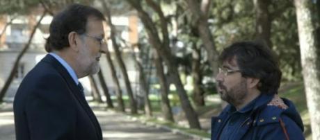 Rajoy y Évole en Salvados de La Sexta.