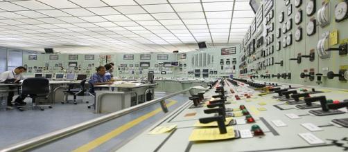 Fotografía de una Central Nuclear vista desde dentro