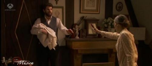 Il Segreto, Bosco viene pugnalato da Amalia