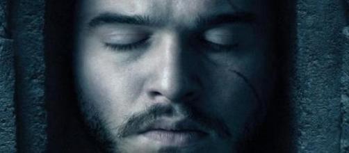 Jon Nieve en uno de los pósters promocionales