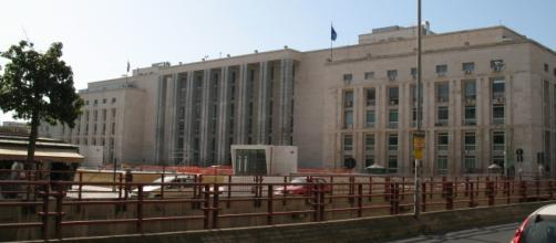 La sede del Tribunale e della Procura a Palermo