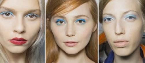 Make up primavera estate 2016: ombretto blu