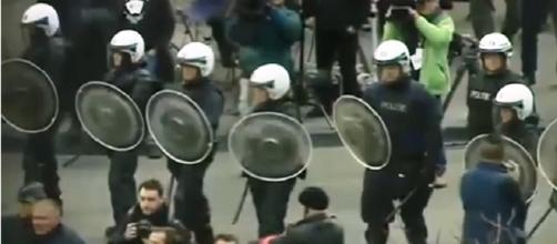 Policia belgaa anti disturbios NTN24