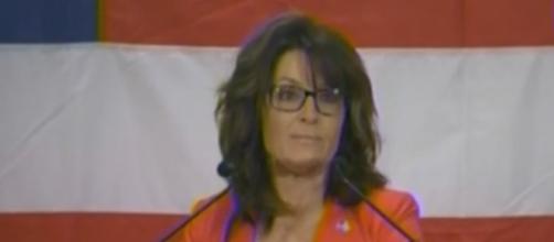 Sarah Palin in Wisconsin, via YouTube