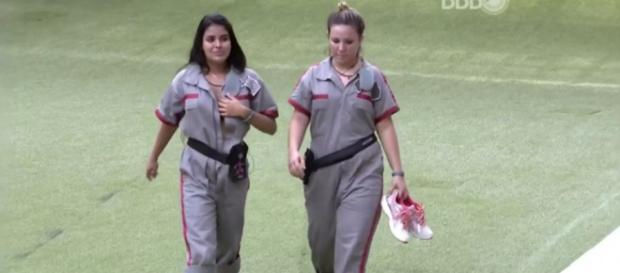 Munik e Maria Claudia - Foto/Reprodução: Globo