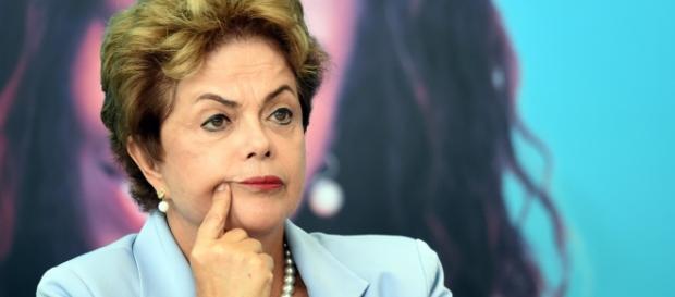 Presidente Dilma anda desequilibrada.