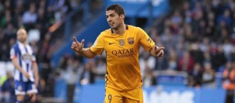 Suárez contra Deportivo La Coruña