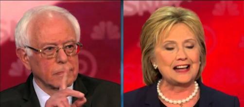 Bernie Sanders and Hillary Clinton (Youtube)