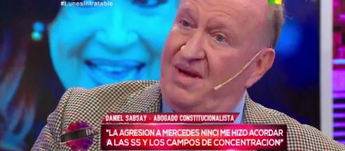 Daniel Sabsay durante la entrevista en Intratables