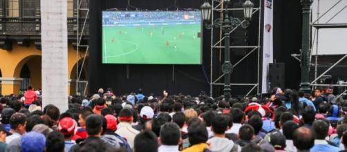 En 2010 más de 70.000 personas vieron en pantalla gigante la final del Mundial