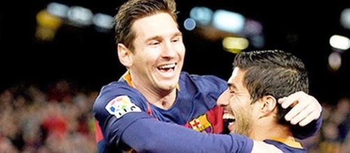 Leo Messi Luis Suárez 2015-2016