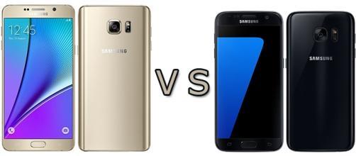 Samsung: Galaxy Note 5 vs Galaxy S7