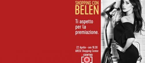 """Shopping con Belen presso """"Il Centro""""."""