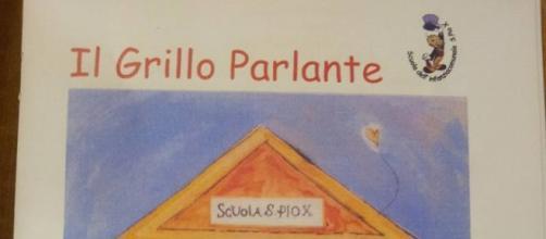 Testata 'Il Grillo Parlante' della Scuola per l'infanzia S.Pio X.