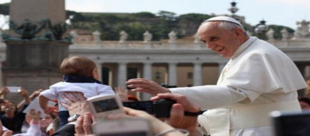 El Papa Francisco en la Plaza de San Pedro. Flickr