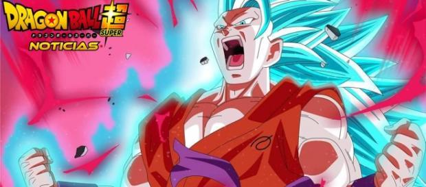 Fan art de Goku super saiyajin Blue fase 3