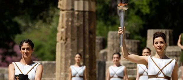 Olimpia, sede del encendido de la Antorcha olímpica