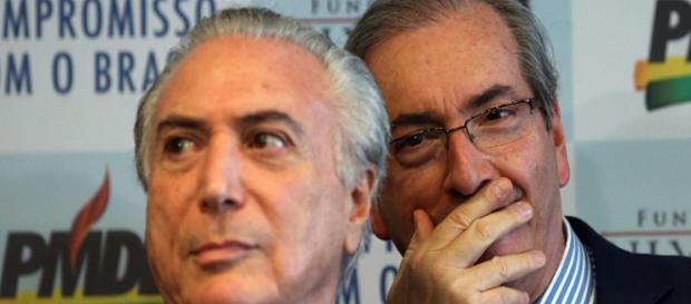 Temer agora é alvo de Eduardo Cunha