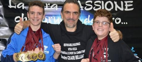 Cesare Belluardo, coach della Nazionale Italiana WTKA di arti marziali