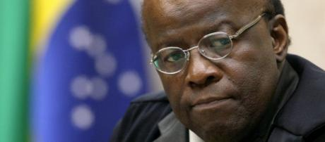 Ex-ministro do STF, Joaquim Barbosa